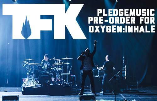Thousand Foot Krutch Unveil OXYGEN:INHALE Album Cover