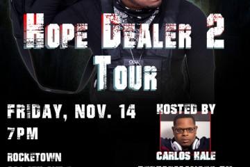 Event Alert: Christian Rap Mogul Mr. Del and the HOPE DEALER 2 Tour Hits Nashville's Rocketown - Free Concert Fri Nov 14