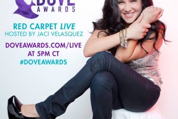Jaci Velasquez is live on the #DoveAwards Red Carpet! Link to watch included within