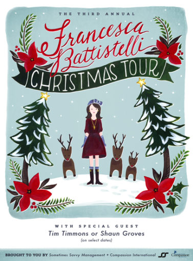Francesca Battistelli Christmas Tour