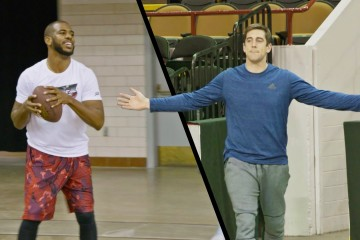 Dude Perfect Chris Paul Aaron Rodgers