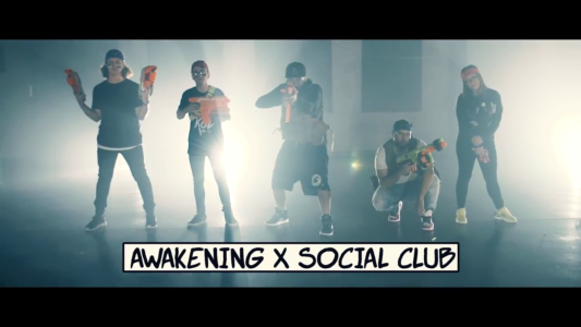 Awakening & Social Club Team Up For Nerf War in Out of Control Music Video