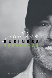 OnePageBookCoverImaged Jason Davis Business Backwards