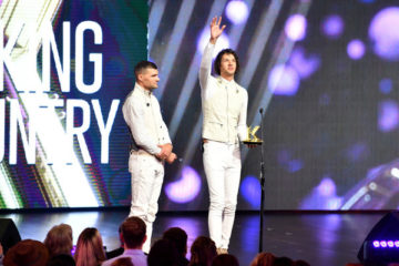 "for KING & COUNTRY Wins Big Earning Three Awards at Fifth Annual K-LOVE Fan Awards As Fans Pack 500+ Theaters Nationwide For ""K-LOVE Fan Awards: Ignite Hope"""