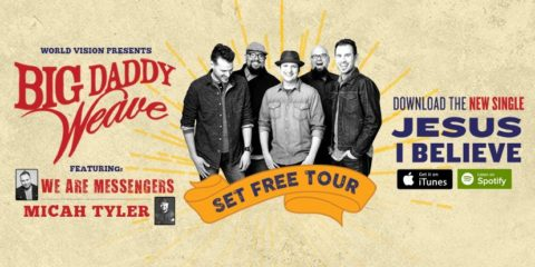 Big Daddy Weave Set Free tour