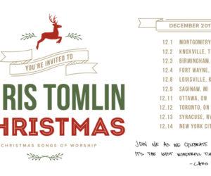 Chris Tomlin Announces Chris Tomlin Christmas: Christmas Songs of Worship Tour