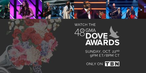48th Annual GMA Dove Awards Airing Sunday, October 22 on TBN