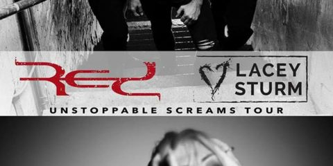 """Red Annouce the """"Unstoppable Screams Tour"""" with Lacey Sturm and Righteous Vendetta for Spring 2018"""