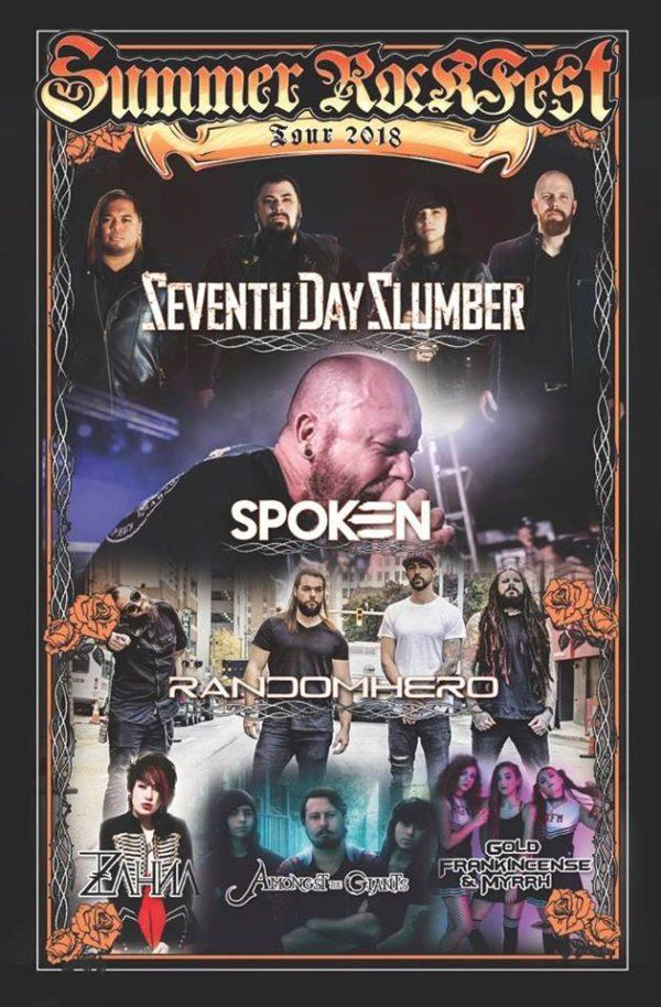 Summer Rockfest 2018 Lineup Annouced