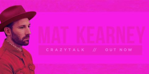 Mat Kearney's New Album is CRAZYTALK