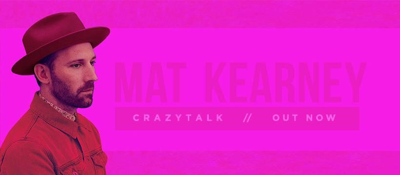 Mat Kearney's New Album is CRAZYTALK