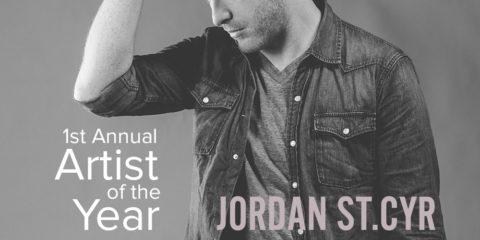 JORDAN ST.CYR WINS ARTIST OF THE YEAR AT TALENT CONTEST