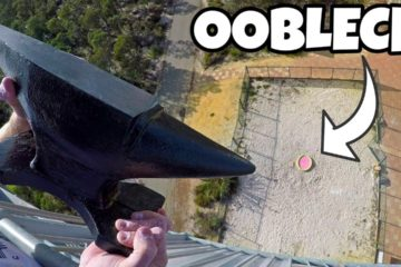 How Ridiculous - ANVIL Vs. OOBLECK from 45m!