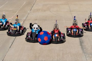 Video: Dude Perfect - Go Kart Soccer Battle