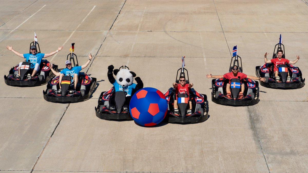 Video: Dude Perfect - Go Kart Soccer Battle