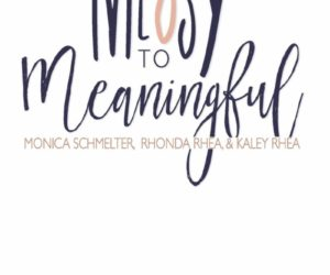 De-Clutter, Sort Through and Discard Unnecessary Stress with Encouraging New Book, 'Messy to Meaningful'