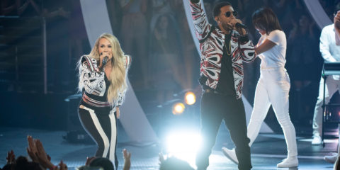 Carrie Underwood & Ludacris Perform The Champion at the Radio Disney Music Awards