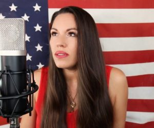 Video: Beckah Shae Performs Star Spangled Banner