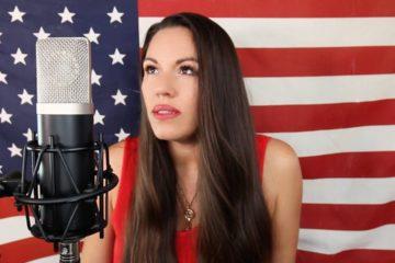 Video: Beckah Shae Performs Star Spangled Banner