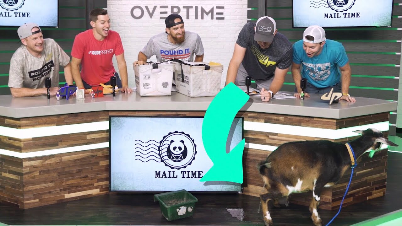 Dude Perfect: Overtime 4 - Goat Destroys Overtime Set