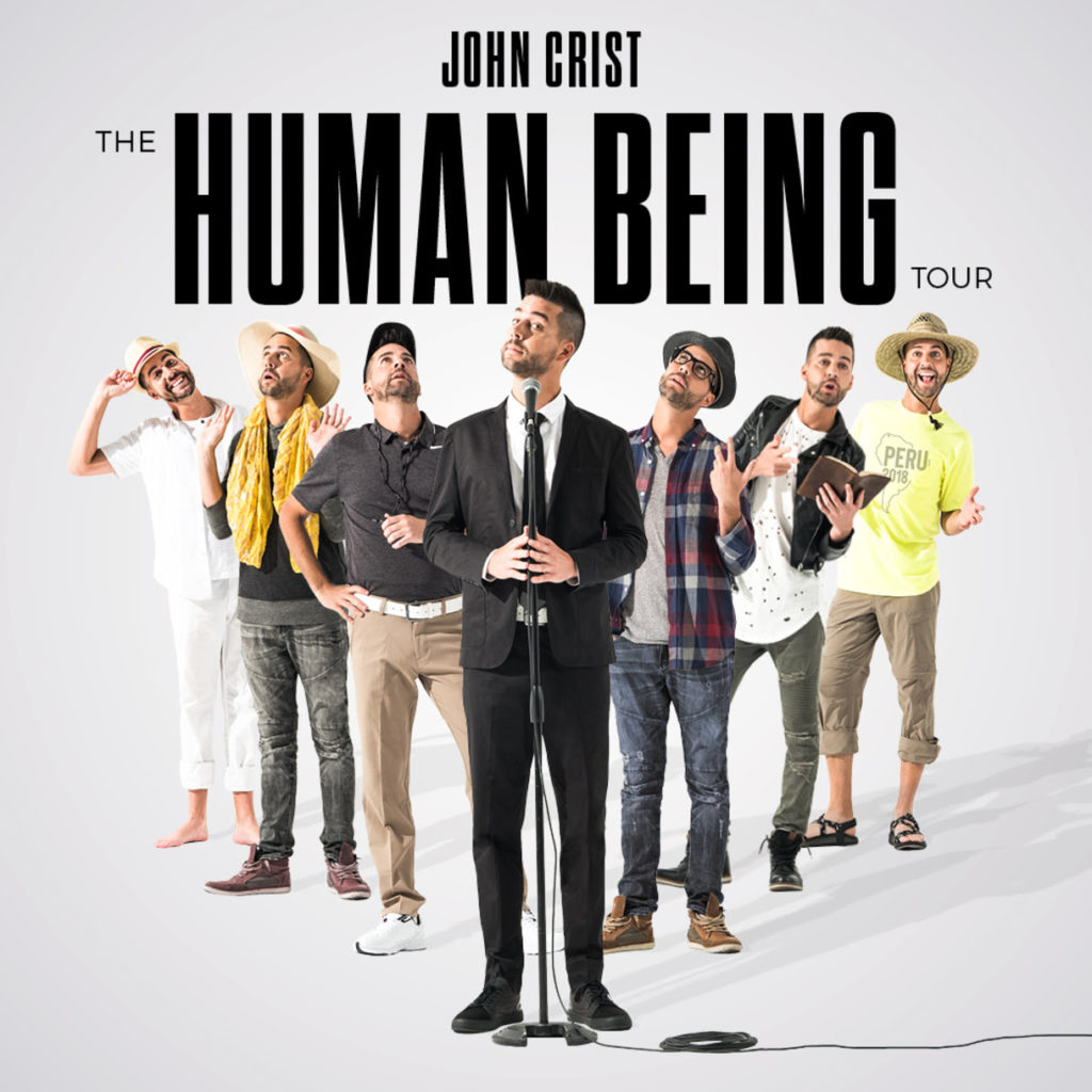 "John Crist and Premier Productions Announce Nationwide ""The Human Being"" Tour"