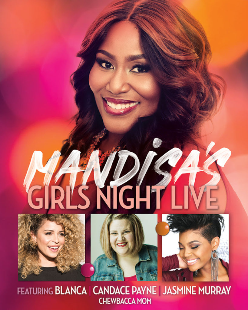 "Mandisa's ""Girls Night Live Tour"" To Feature Blanca, Jasmine Murray and More"