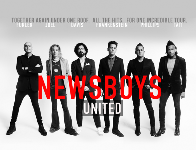 Newsboys United Tour Adds 40 Fall Dates Through The End of The Year