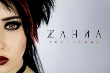 Zahna Is Red For War With Rockfest Records Solo Debut