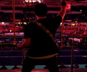 Frank Palangi Slays His National Anthem Guitar Solo Performance at the DCU Arena