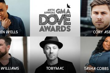 GMA Announces Nominees for 49th Annual GMA Dove Awards, 10/16 in Nashville