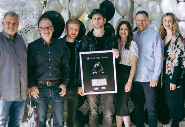 Let You Down Eclipses Top 40 Chart As NF Hit Co-Written & Produced By Tommee Profitt Marks First Pop No. 1 For Capitol CMG Publishing