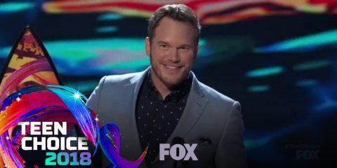 Chris Pratt Honours God Again at Teen Choice Awards