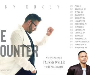 Grammy® Nominee Danny Gokey Invites Fans To Leave The World Better Than You Found It