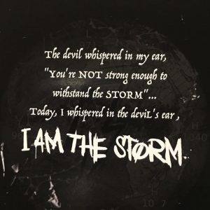 I AM THE STORM Charges Ahead With FIGHT MUSIK VOL. 1
