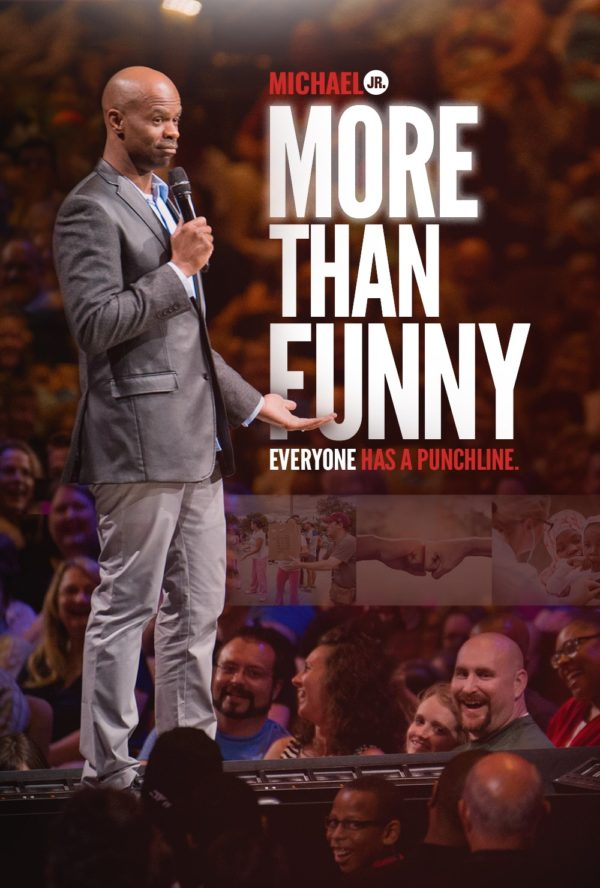 Michael Jr.'s 'More Than Funny' Blends Comedy and Real-Life Inspirational Storytelling 10/18