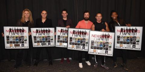 Newsboys Celebrate 10 Million in Total Career Sales