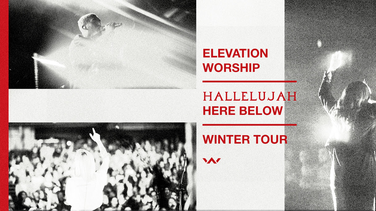 Elevation Worship Announces Dates for Hallelujah Here Below Winter Tour