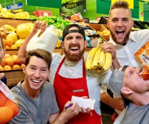 Video: Dude Perfect - Grocery Store Stereotypes