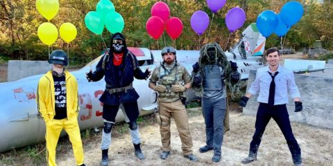 Dude Perfect - Airsoft Battle Royale