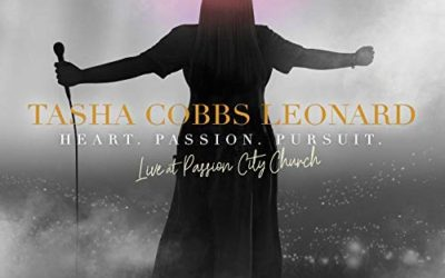 Tasha Cobbs Leonard Releases New Live Album - Heart. Passion. Pursuit.