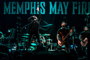 Concert Photos: Memphis May Fire - Greensboro, NC 11/20 - Garett Walker