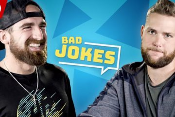 Dude Perfect Tell Bad Christmas Jokes