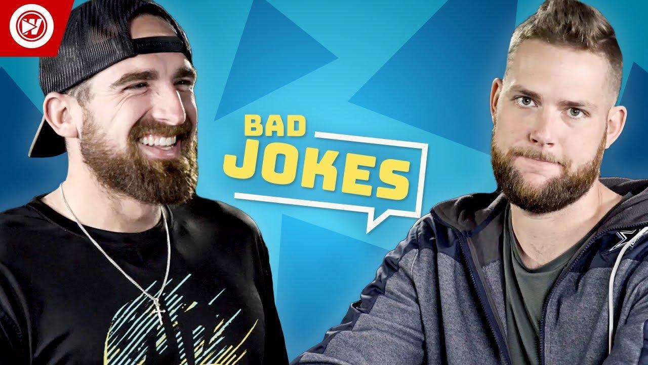 Dude Perfect Tell Bad Christmas Jokes