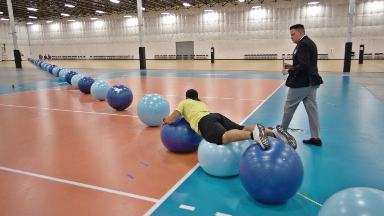 Dude Perfect - Overtime 6: World Record Exercise Ball Surfing