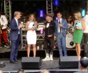 ICYMI: TobyMac performs I just need U. on FOX & Friends' All-American Summer Concert Series