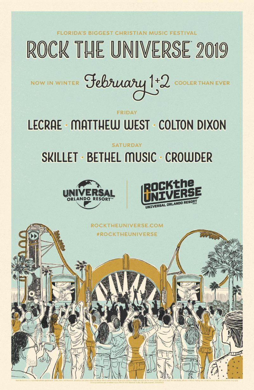 Rock The Universe 2019 Kicks Off on Feb 1 at Universal Orlando Resort