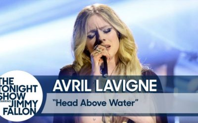 Avril Lavigne Performs Head Above Water on The Tonight Show Starring Jimmy Fallon