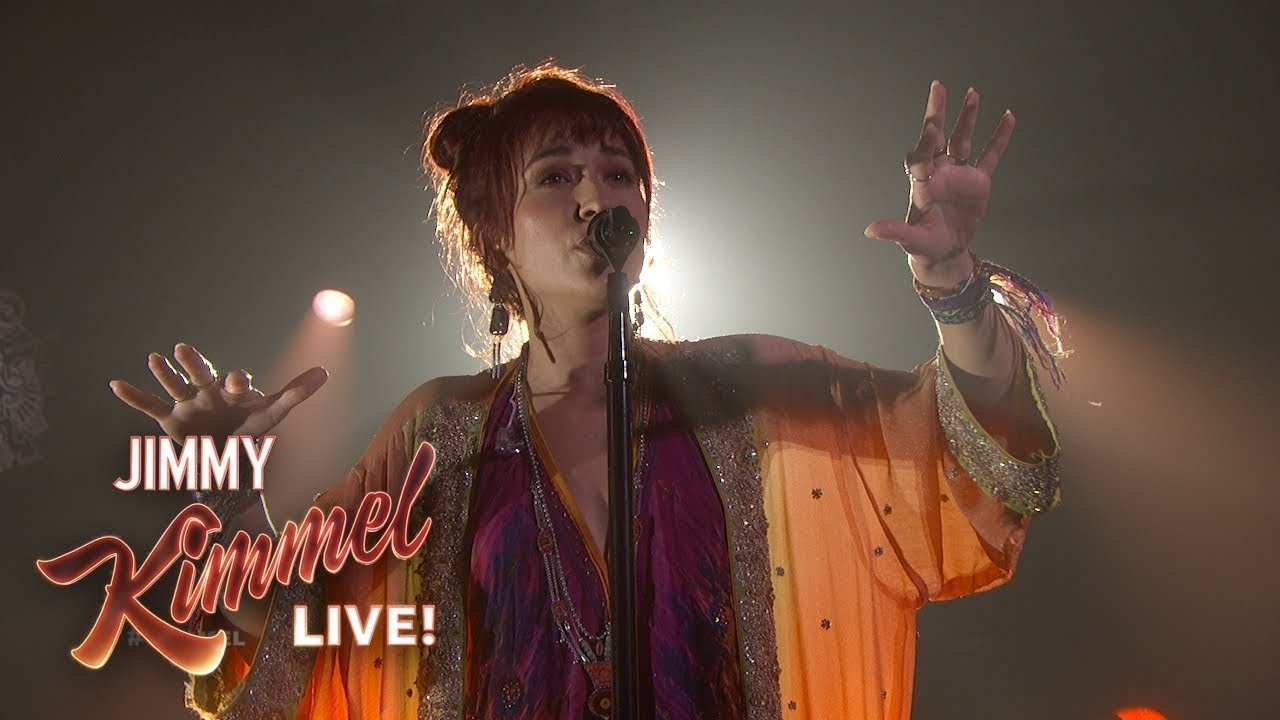 Lauren Daigle Performs You Say Live on Jimmel Kimmel Live!