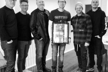 Ryan Stevenson Celebrates No. 1 Billboard Christian AC Single NO MATTER WHAT