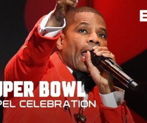 Kirk Franklin Performs Love Theory at Super Bowl Gospel Celebration